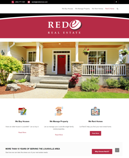 Louisville web design