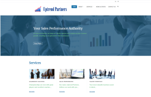 Uptrend Partners website